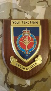 Welsh Guards Personalised Military Wall Plaque
